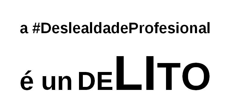 Para os xuices e fiscais que exercen en Ourense o delito de deslealdade profesional non EXISTE